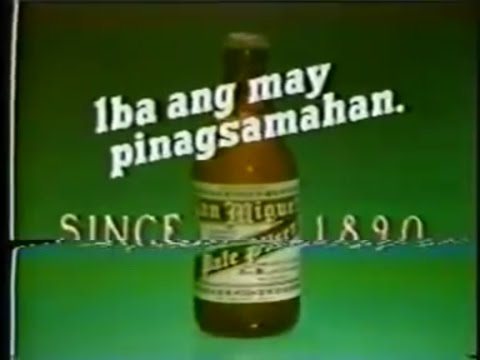 """San Miguel Beer """"One Of The World's Best Beers"""", 15s - 1987, Philippines"""