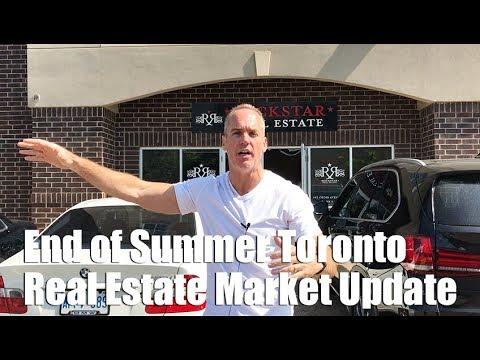 End of Summer Toronto Real Estate Market Update