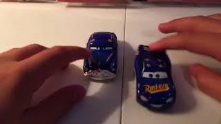 Disney Pixar cars 3 fabulous Lightning McQueen diecast review