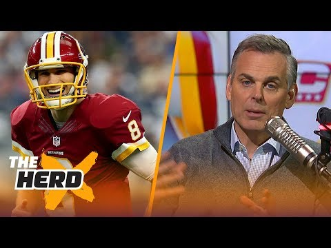 Colin Cowherd reacts to Kirk Cousins signing with Vikings, Talks Drew Brees