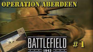 Battlefield 1942 multiplayer game #1. Operation Aberdeen