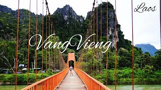 Inside the Beautiful Karst Mountains of Vangvieng, Laos - Exploring Chang Cave - Nam Song River