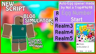 [NEW] Roblox Blob Simulator 2 GUI | Teleport To All Zones / Auto Open Egg's / And More | [FREE]