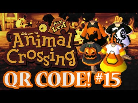 ANIMAL CROSSING: NEW LEAF - QR CODES - HALLOWEEN SPECIAL! (EPISODE 15)
