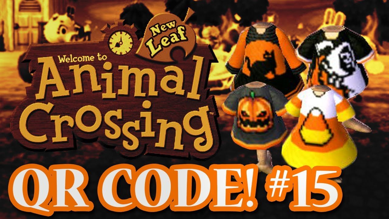 ANIMAL CROSSING: NEW LEAF - QR CODES - HALLOWEEN SPECIAL! (EPISODE ...
