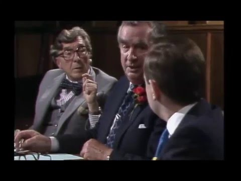 Alex Salmond on BBC Question Time 1987