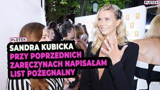 Sandra Kubicka o zaręczynach i ślubie