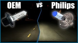 Philips X-Treme & Crystal Vision Ultra Replacement Halogen Headlights | OEM vs Philips Bulbs
