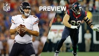Bears vs. Texans (Week 1 Preview) | Around the NFL Podcast