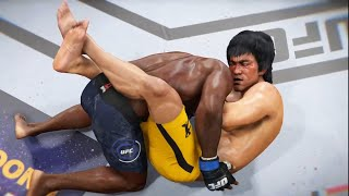 UFC Bruce Lee vs Anthony Johnson in the light heavyweight division