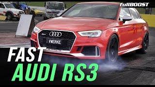 Inside a 9-second AWD Audi RS3 | fullBOOST