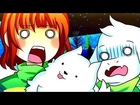 CHARA & ASRIEL SWAP BODIES! Funny Undertale AU Animation Roleplay
