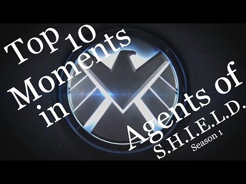 Agents of SHIELD - My Top 10 Moments of Season 1 (MAJOR Spoilers for SE1)
