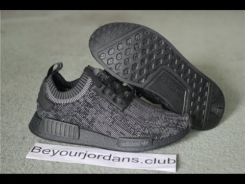 14c87b96c7bbb Adidas NMD Blackout with 3 nipples s80489 from Beyourjordans.club ...