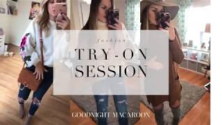 Try On Haul by Fashion Bloggers | GOODNIGHT MACAROON