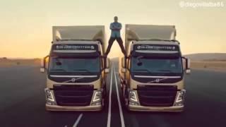 Как снимали рекламу Volvo с Ван Даммом!