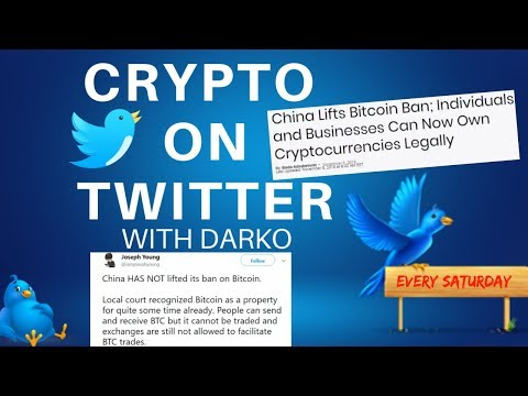 Crypto On Twitter! Bitcoin Banned In China Or Not? + Giveaway