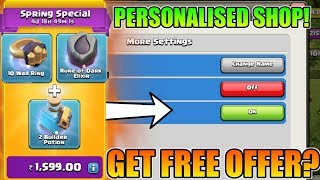 PERSONALISED SHOP : GET FREE OFFER IN SHOPE? | IS IT POSSIBLE? | LET'S FIND OUT