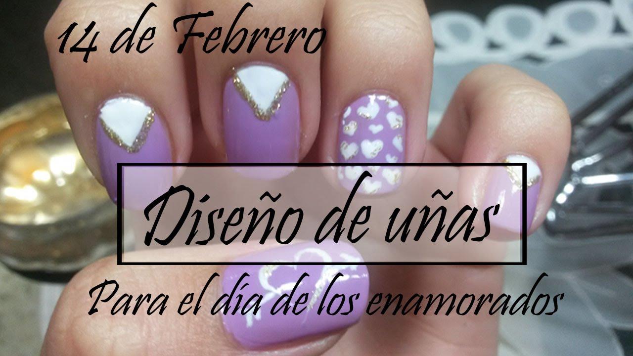 Diseño de uñas: Para el día de los enamorados * San Valentín 2016 ...