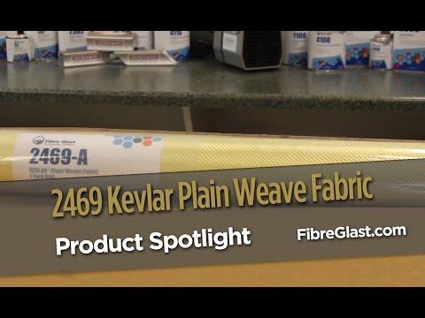 2469 KEVLAR® Plain Weave Fabric