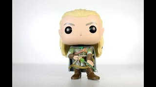 Lord of the Rings LEGOLAS Funko Pop review