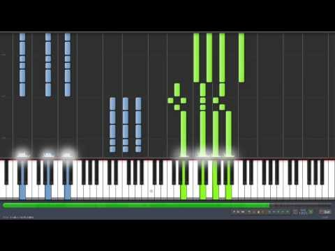 Pirates of the Caribbean Full Theme - Synthesia Piano Tutorial!