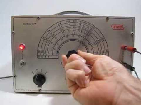 EICO 377 TUBE AUDIO GENERATOR Sine & Square Wave