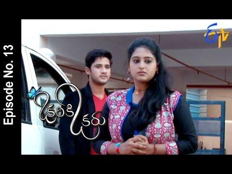 Okariki Okaru | 22nd May 2017 | Full Episode No 13 | ETV Telugu