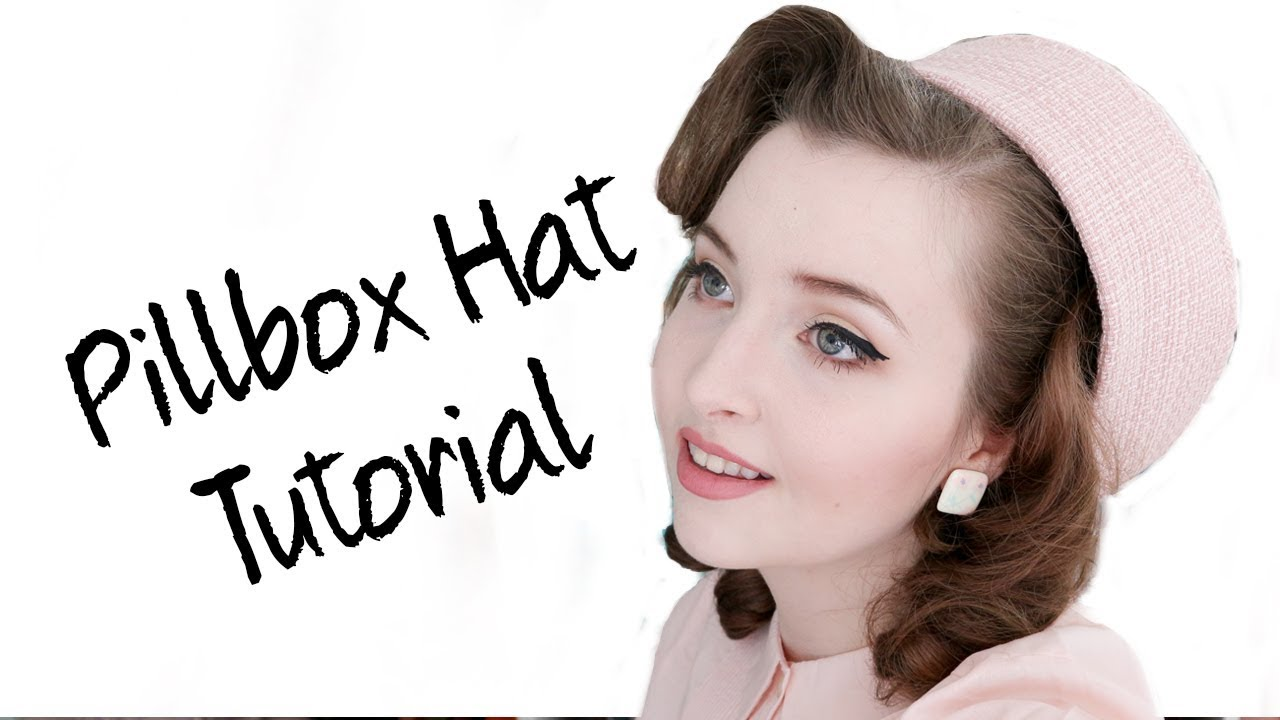 1671678c Pillbox Hat Tutorial - YouTube
