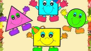 Вивчаємо число 10.  Натуральний ряд чисел.  Розпізнання геометричних фігур.
