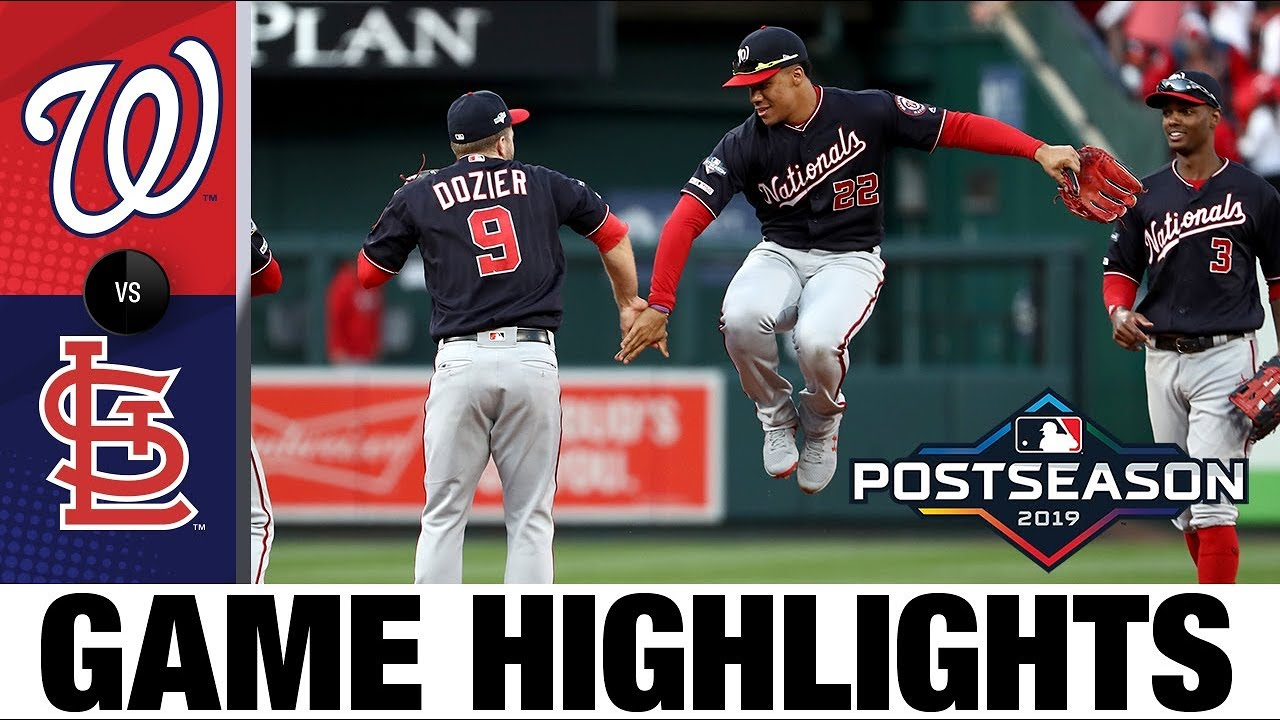 Download Adam Eaton, Max Scherzer lift Nationals to 2-0 NLCS lead | Nationals-Cardinals MLB Highlights
