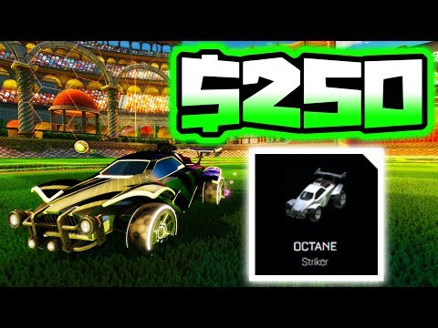 *SPECIAL* WHITE OCTANE IS WORTH $250 IN ROCKET LEAGUE!!