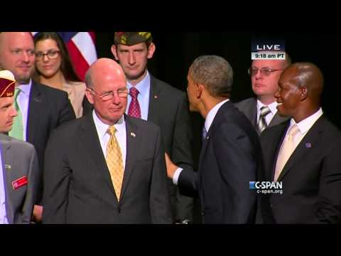 President Obama Signs VA Health Care Bill (C-SPAN)