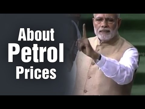 PM Modi gives reasons for not reducing petrol prices as per global oil prices