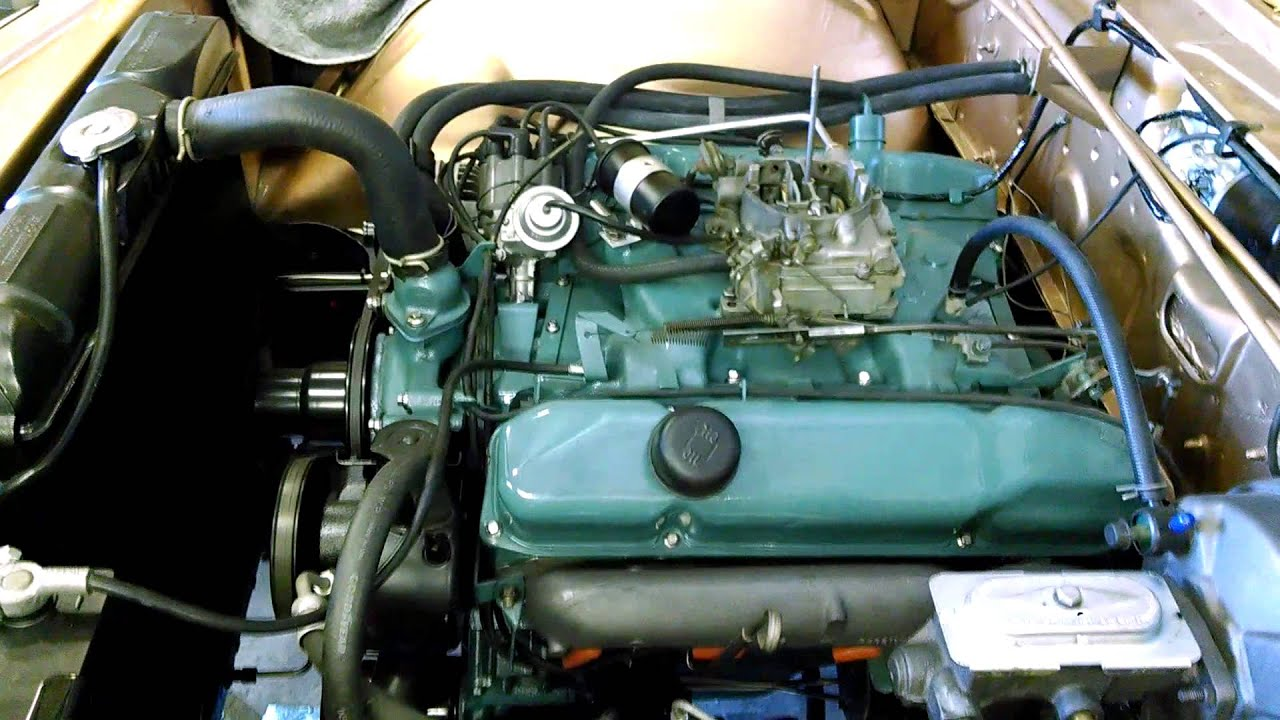 1966 chrysler 300 starting after engine bay restoration for Motor for chrysler 300