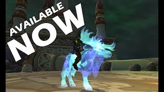 LIMITED TIME MOUNT: AVAILABLE NOW !!!!!!! (Eche'ro)