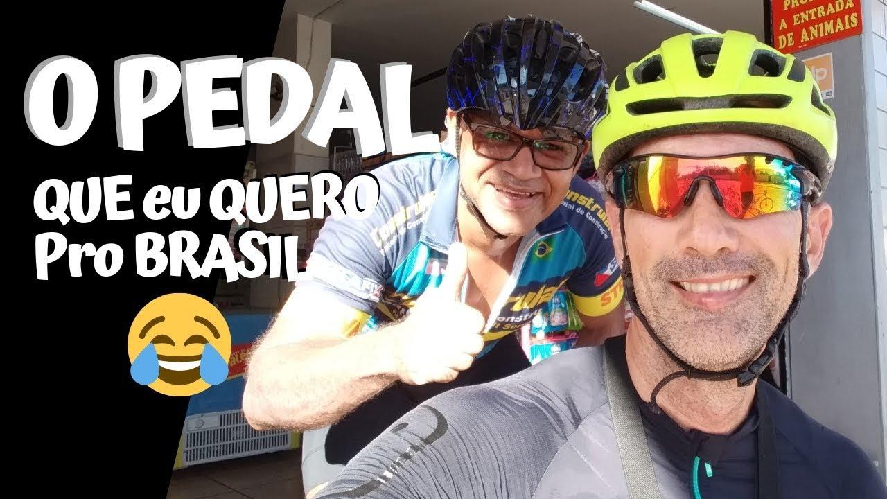 O Pedal que eu Quero pro Brasil! rsrs Você Pedala em Pé? E a câmera, ficou boa?