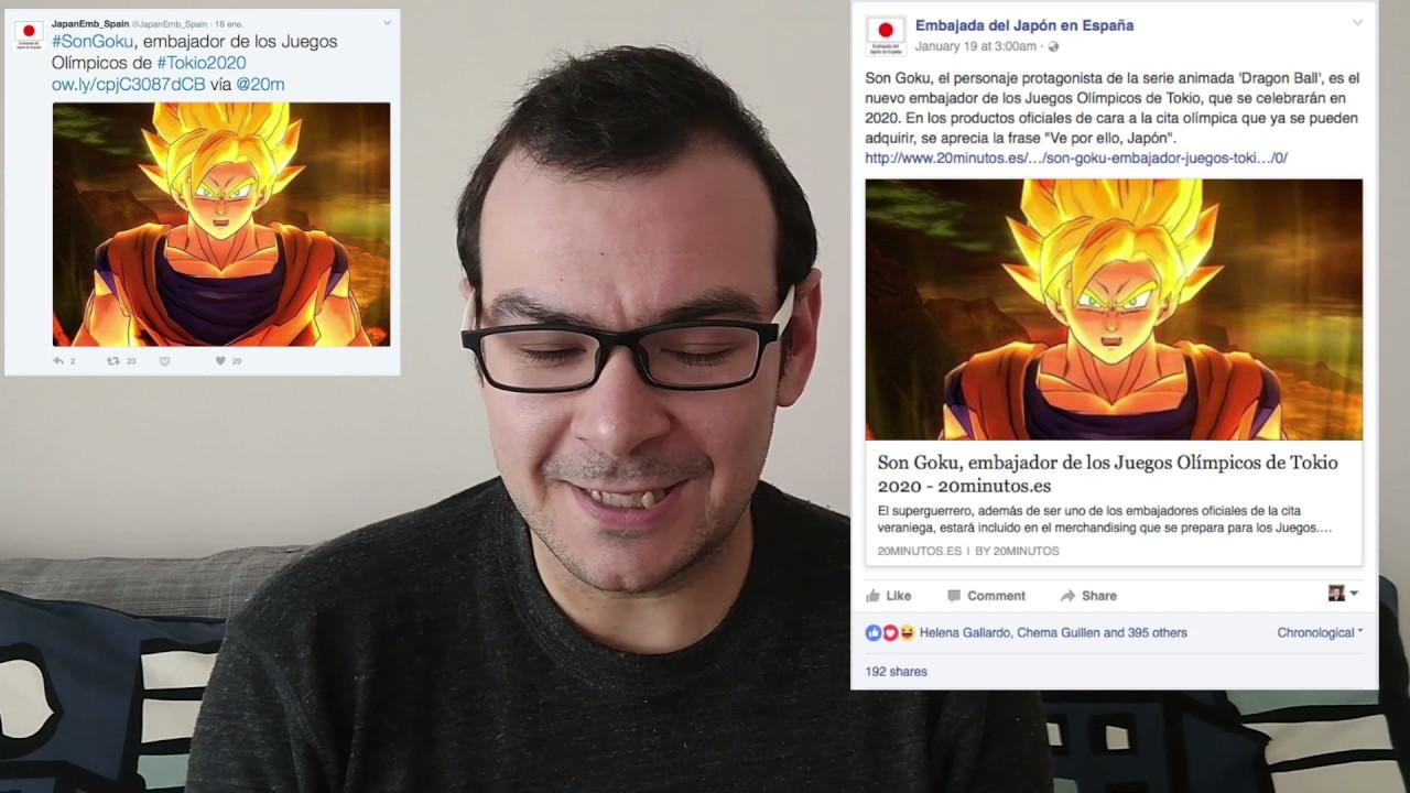 Sobre El Bulo De Goku Embajador De Tokyo 2020 Youtube
