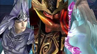 Warriors Orochi 3 Ultimate - Lu Bu, Zhao Yun, Diao Chan DLC Costume Gameplay (Team DW Strikeforce)
