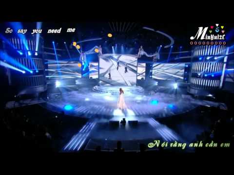 The silence - Alexandra burke [Vietsub by 2C] with lyric