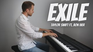 exile - Taylor Swift ft. Bon Iver | Piano Cover