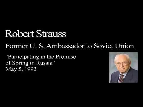 Landon Lecture  Robert Strauss   only