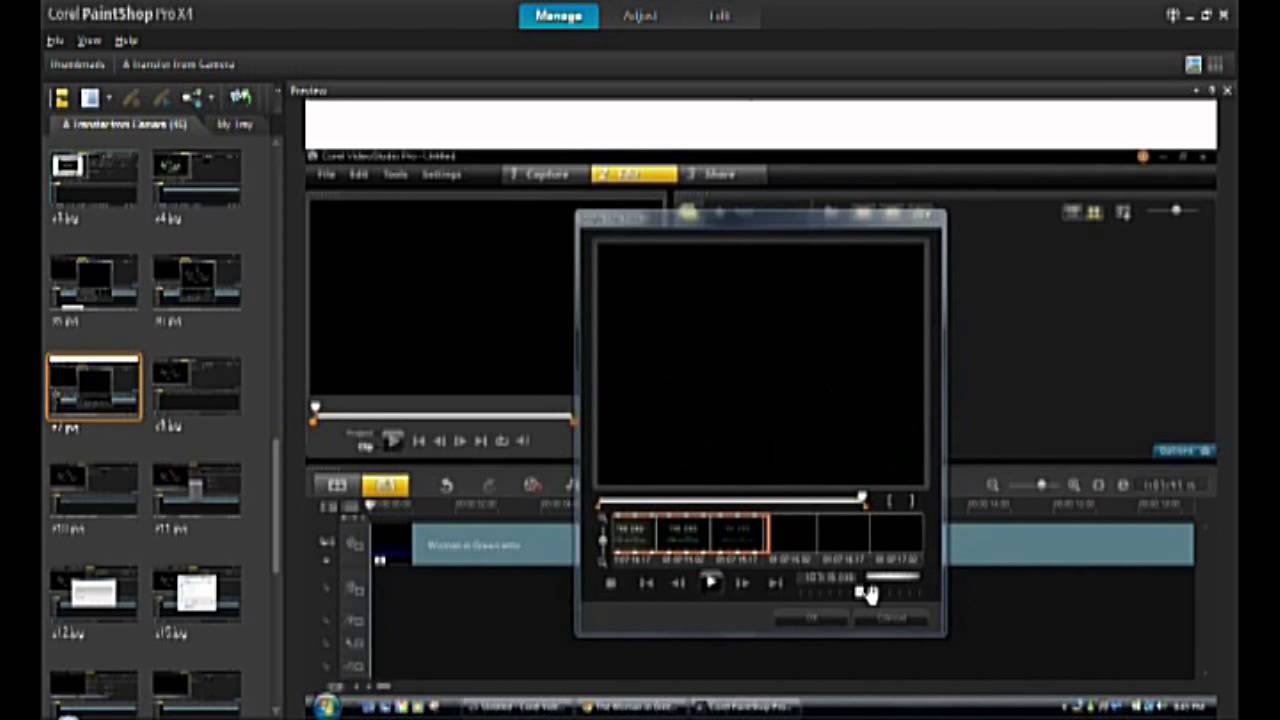 corel videostudio screen capture