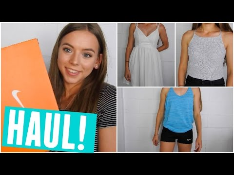TRY ON CLOTHING & ACCESSORIES HAUL! | NIKE, CITY BEACH & MORE!