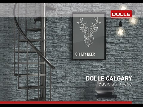 DOLLE Calgary staircase