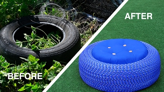 Outdoor Tire Seats