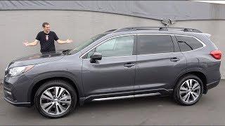 Subaru Ascent 2019 года это внедорожник Subaru, который мы все ждали