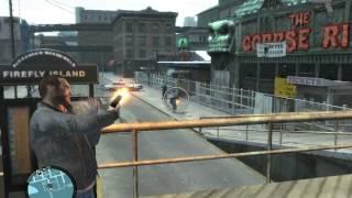 GTA 4 - Свободная игра - Драки, войны с полицией
