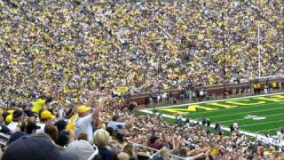 The Wave at Michigan Stadium 9/18/10