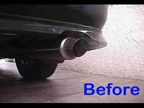 Low Cost Exhaust >> Low Cost Muffler Change